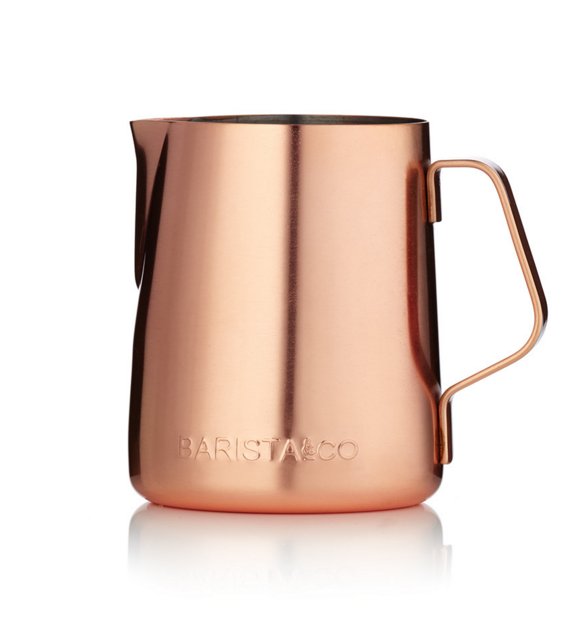Barista & Co ​Milk jug - Electric Copper