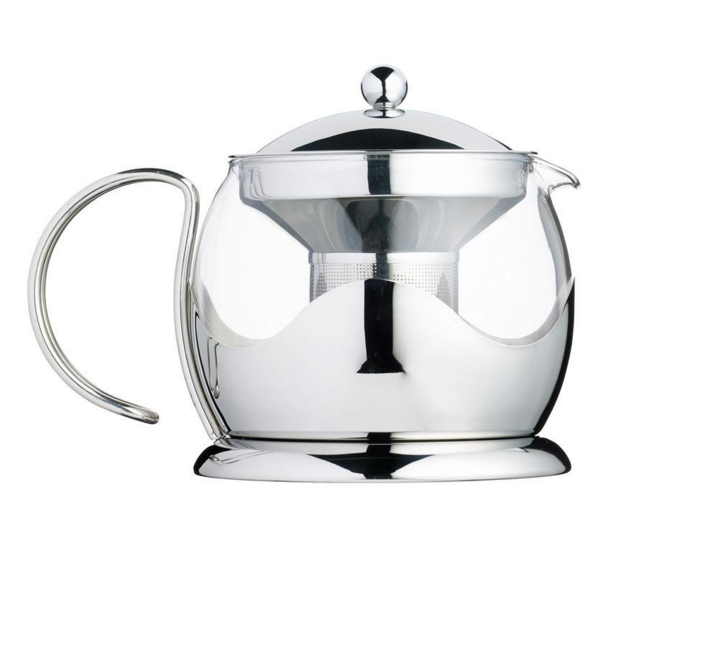 L'express ​Contemporary style borosilicate glass teapot