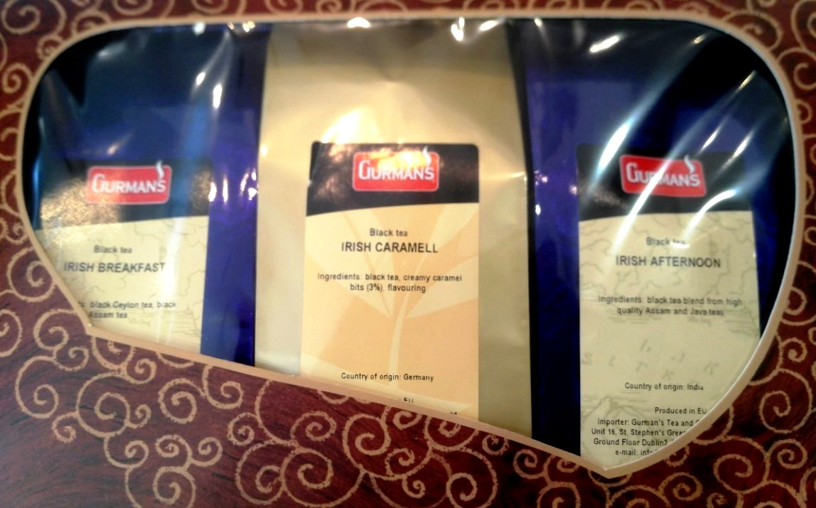 Irish Caramel Black Tea Selection 3x100g