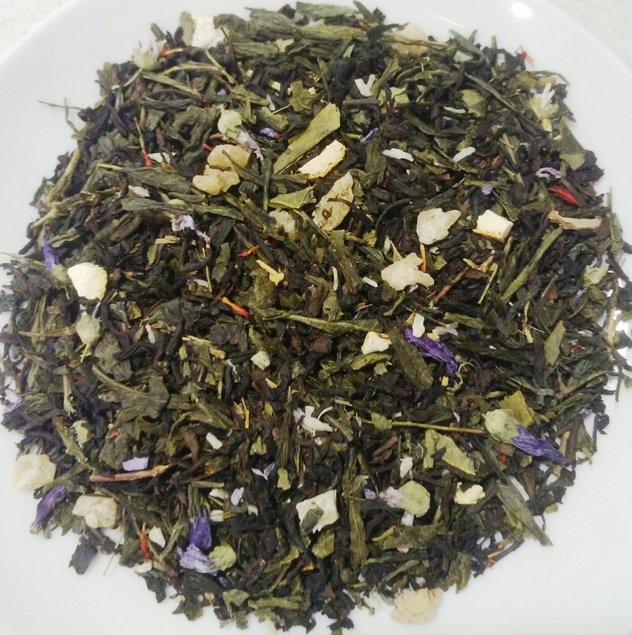 Flavored Green and Black Tea ''Mango Tango''