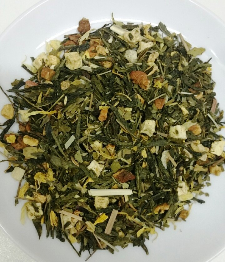 ​Flavored green tea 'Forget Me Not'