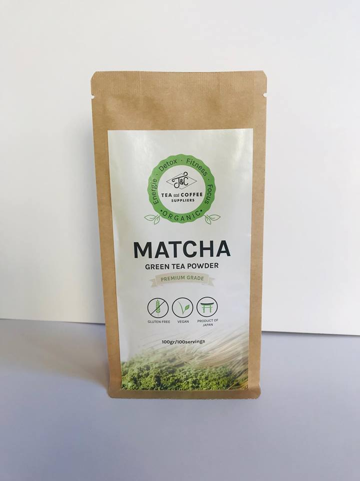 T&C Organic Matcha Green Tea Powder - Premium Grade